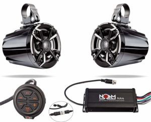 NOAM NUTV5 - Marine Bluetooth ATV:Golf Cart:UTV Speakers_audiowavegeek.com