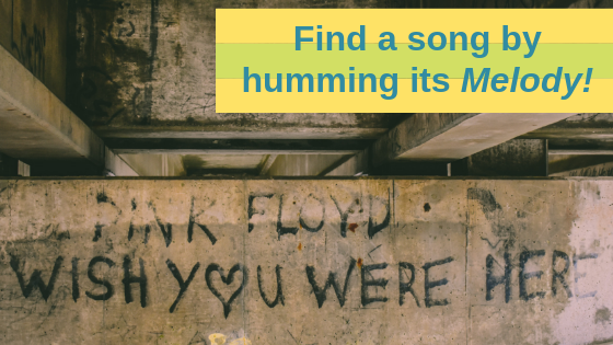 Find a song by humming its melody_audiowavegeek.com