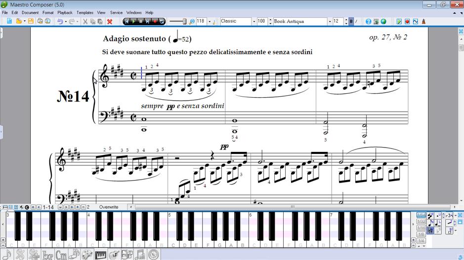 best_midi_keyboard_audiowavegeek_11_Maestro Composer for Windows