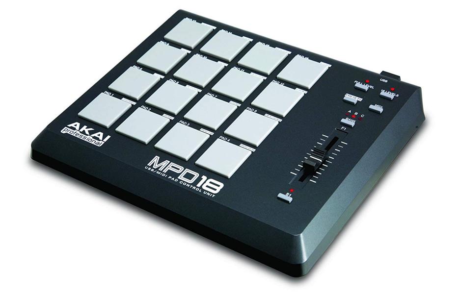 best_midi_keyboard_audiowavegeek_4_Akai Professional MPD18