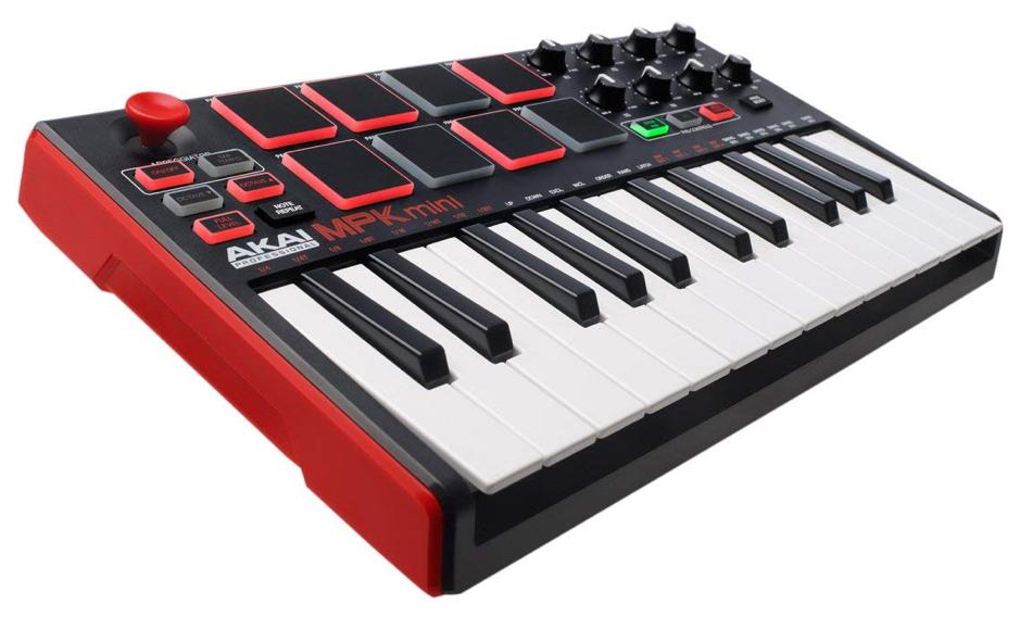 best_midi_keyboard_audiowavegeek_6_Akai Professional MPK Mini MKII