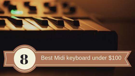 Best Midi keyboard under $100_audiowavegeek.com