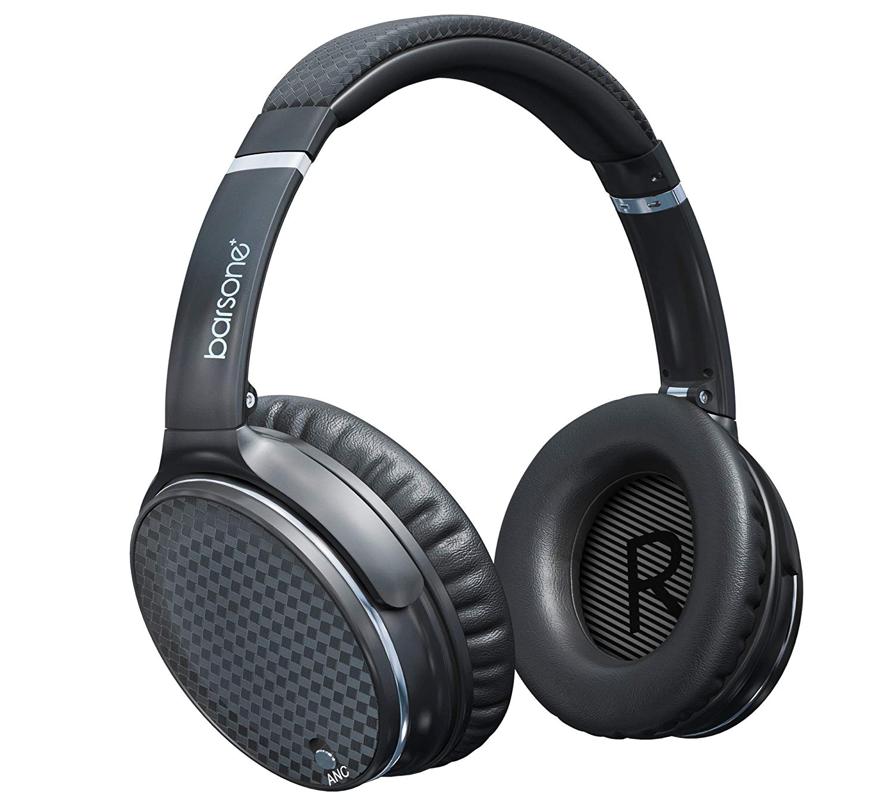 Top Best Headphones for Drummers_Barsone Active Noise Cancelling Headphones
