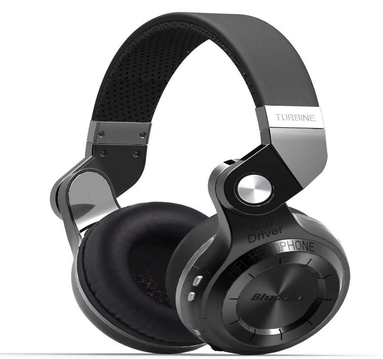 Top Best Headphones for Drummers_Bluedio T2s Bluetooth Headphones