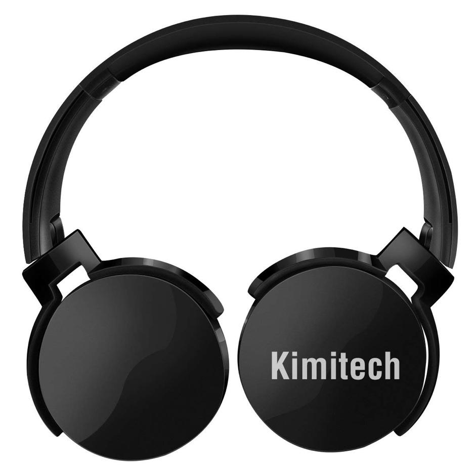 Top Best Headphones for Drummers_Kimitech Bluetooth Headphones